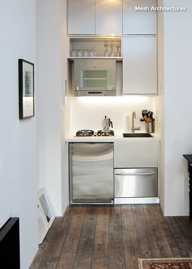 10 Tiny Micro Kitchens for Small Space Living Theydons Lifestyle